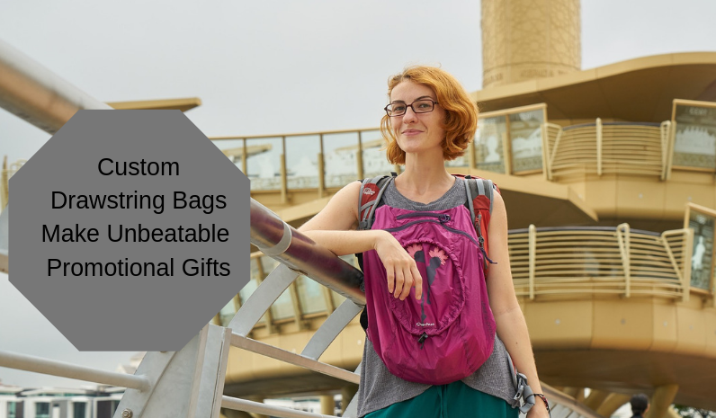 6 Top Reasons That Make Custom Drawstring Bags Unbeatable Promotional Gifts