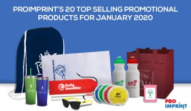 ProImprint's 20 Top Selling Promotional Products for January 2020