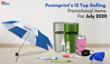 Proimprint's 15 Top Selling Promotional Items For July 2020