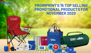 Proimprint's  15 Top Selling Products For November 2020