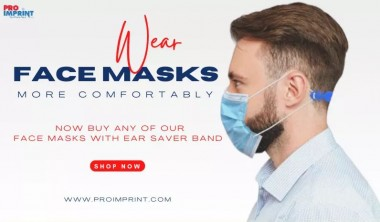 Face Mask and Ear Saver Combo-Wear Masks all Day Without Pain!