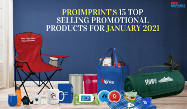 ProImprint's 15 Top Selling Promotional Products For January 2021