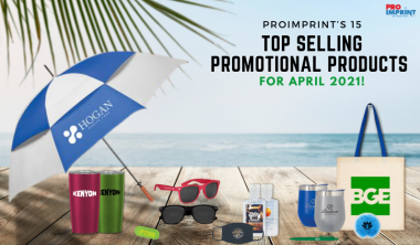 ProImprint's 15 Top Selling Promotional Products for April 2021
